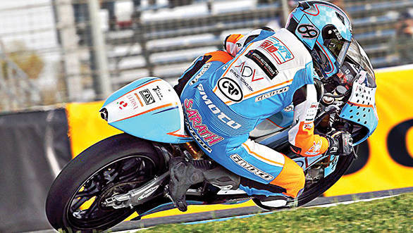 Sarath Kumar's Moto3 stint saw him come to terms with a very fast race machine
