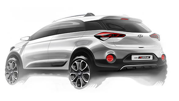 Hyundai i20 Active rendering (2)
