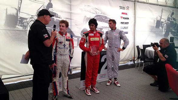 Arjun Mani wins toyota racing series