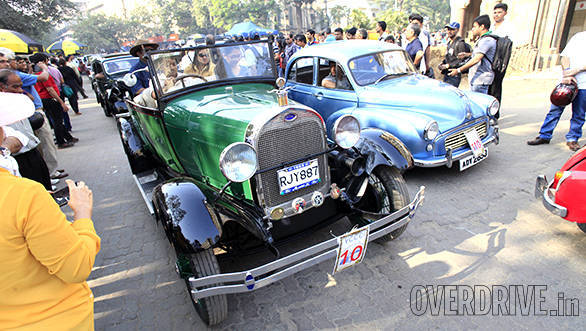Vintage Car Fiesta organised by the VCCCI in India on February 1, 2015