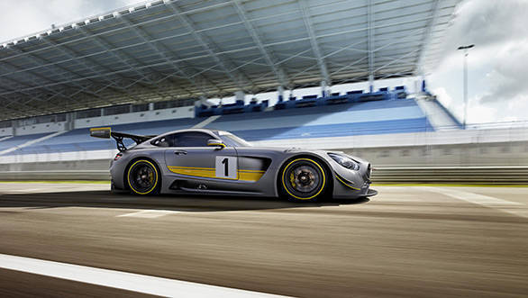2015 Geneva Motor Show: Mercedes-AMG GT3 revealed