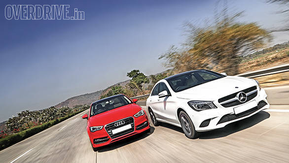 Mercedes CLA vs Audi A3 (1)