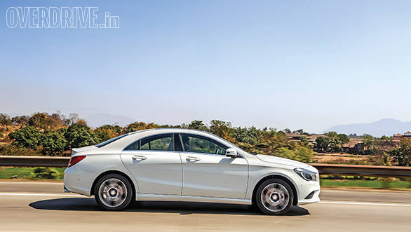 The CLA is a stunner when viewed from any angle