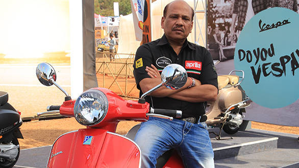 Sanjeev Goyle has been appointed executive VP 2W business of Piaggio India