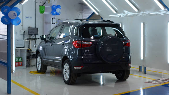 Quality Check Bays at recently launched Ford Vehicle Personalisation Centre in Chennai_resized