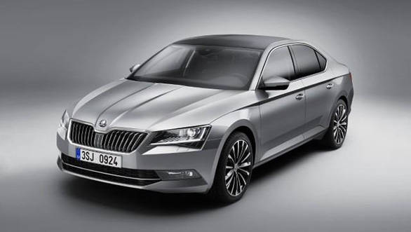 2016 Skoda Superb B8 unveiled in Prague