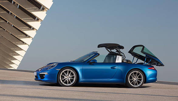 Porsche 911 Targa 4 And 4 S Launched In India Overdrive