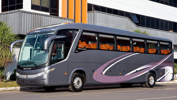 The Paradiso 1200, shown at Auto Expo 2012 as a three-axle coach, will also be available as a 12m two-axle version built presumably on the underpinnings of Tata's luckless Divo model