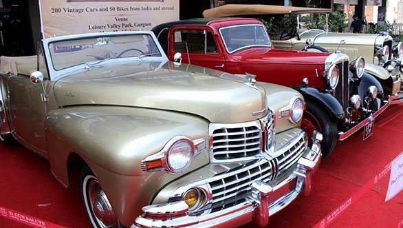 Vintage Car rally Delhi 2