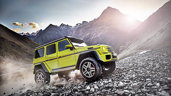 Mercedes-Benz G500 4x4² Showcar