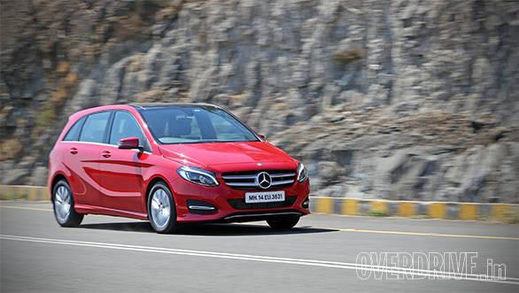 2015 Mercedes-Benz B-Class diesel facelift review (India)