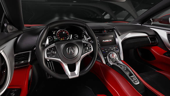 Staying true to the legendary original NSX, the newcomer's 'Human Support Cockpit' provides exceptional driver control, visibility and packaging.