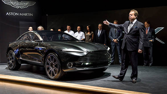 2015 Geneva Motor Show: Aston Martin DBX electric crossover concept unveiled
