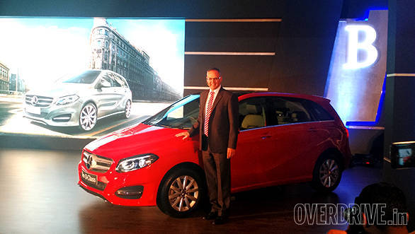 mercedes benz b class facelift launched in india at rs 27 95 lakh