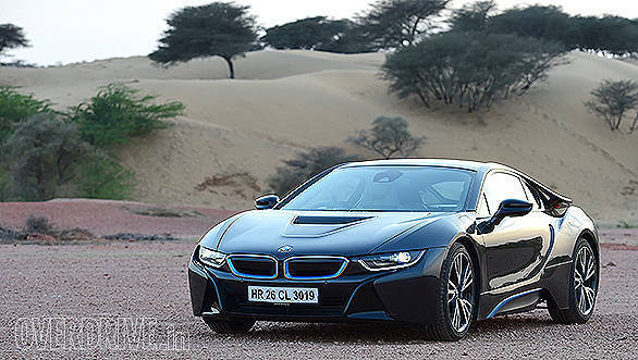 BMW i8 hybrid sportscar road test review