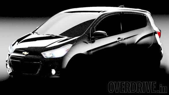 Chevrolet Beat teased