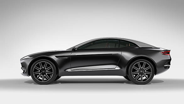 Clearly signalling an extension to the brand's existing model lines in the future, the all-wheel drive DBX Concept seamlessly combines traditional Aston Martin beauty with elegant new engineering that gracefully aligns form and function.