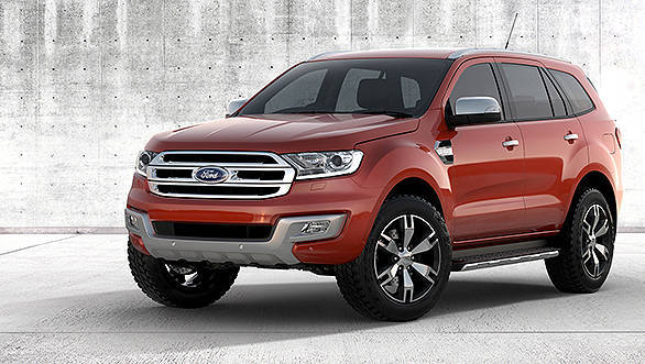 The Ford Everest launched at the Bangkok Motor Show this week is the replacement for the Endeavour in India