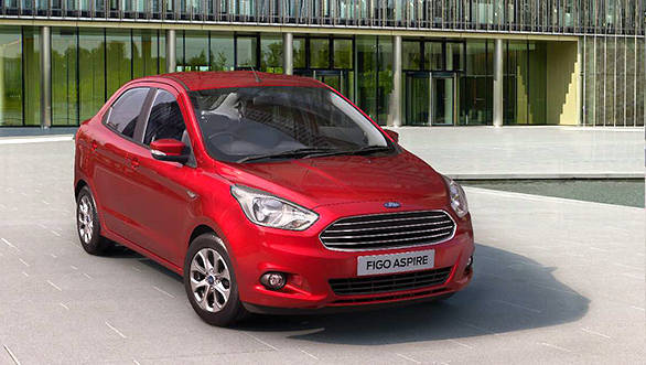 Ford Aspire is a sub-4m sedan based on the upcoming Figo hatchback