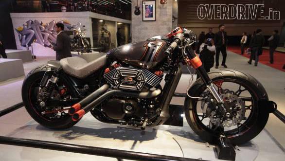 Harley-Davidson Urban Street 750 Custom