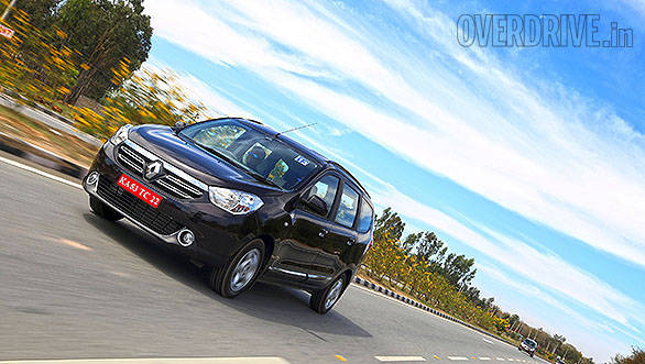 2015 Renault Lodgy MPV review road test (India)