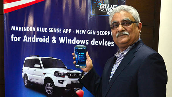 Mahinda's Blue Sense app for XUV500 now available on iOS