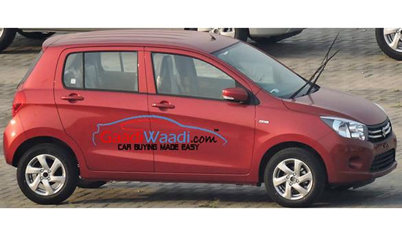 Spied: Maruti Suzuki Celerio diesel spotted at Maruti's Manesar stockyard