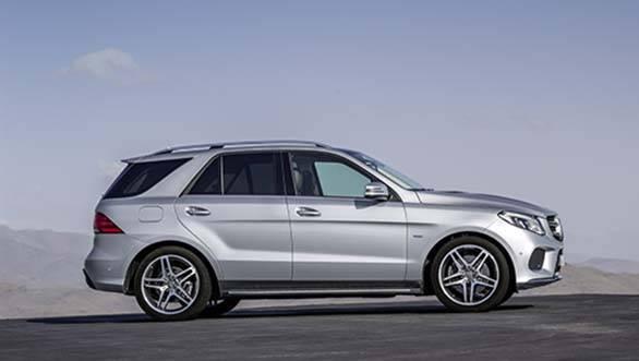 Mercedes-Benz GLE500 5