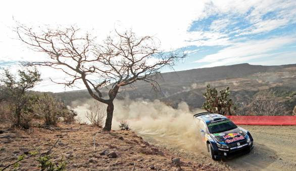 Sebastien Ogier makes it three out of three at Rally Mexico