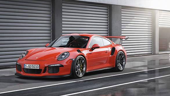 2015 Geneva Motor Show: Porsche GT3 RS image gallery