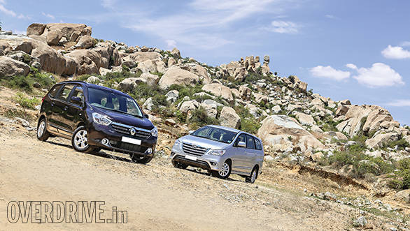 Comparison: Renault Lodgy vs Toyota Innova