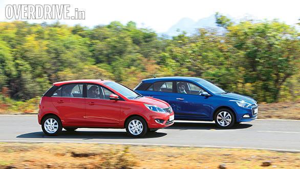 Tata Bolt vs Hyundai Elite i20 vs Fiat Punto Evo vs Volkswagen Polo (3)