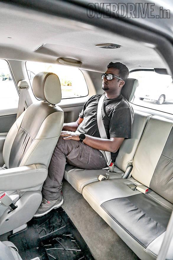 Toyota Innova seating