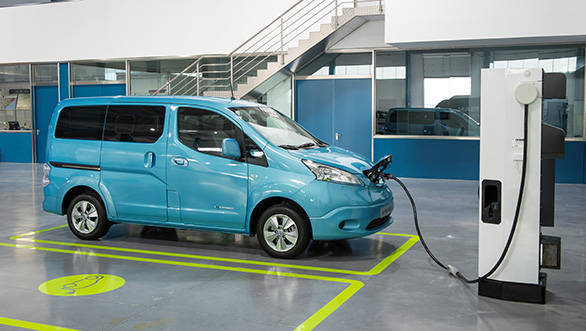 The Nissan e-NV200 is an electric vehicle that is manufactured at the firm's plant in Barcelona, Spain