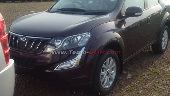 Spied: New Mahindra XUV500 in India