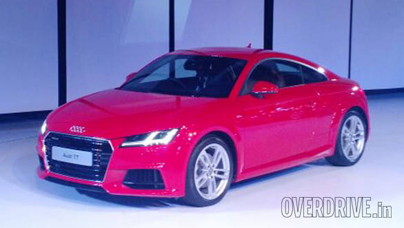 Audi TT 45 TSI Coupe launched in India at Rs 60.34 lakh