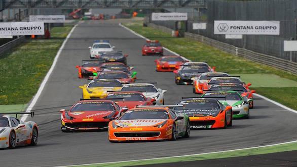 Ferrari Challenge Monza Circuit (1)
