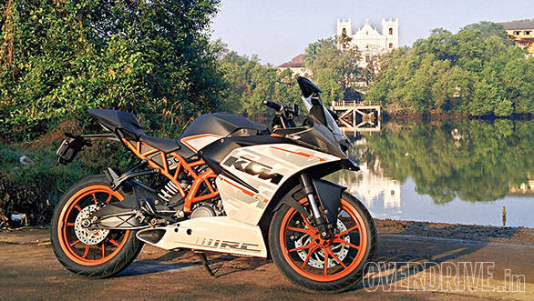 KTM RC390 long term