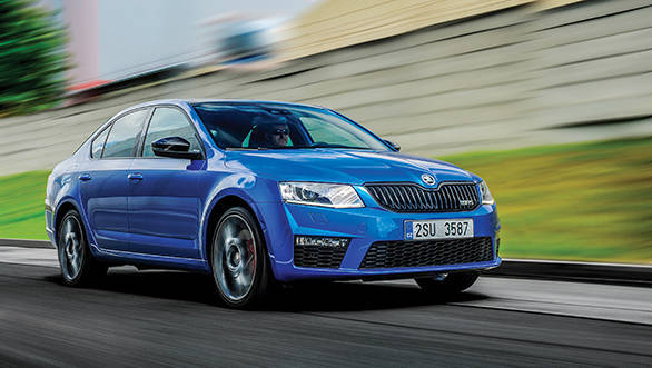 2015 skoda octavia rs 2 0 tdi first drive review overdrive. Black Bedroom Furniture Sets. Home Design Ideas