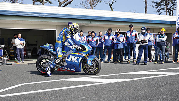 Suzuki private test at Ryuyo (1)