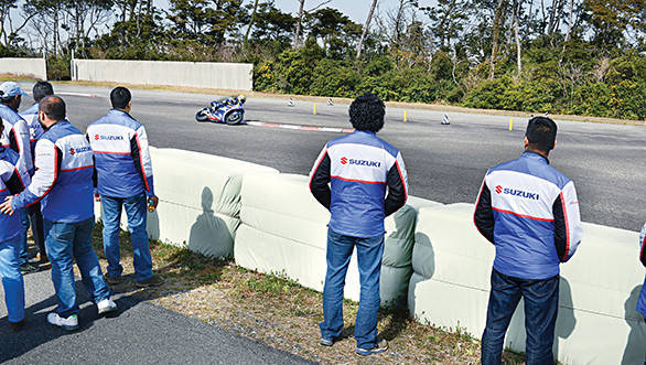 Suzuki private test at Ryuyo (2)