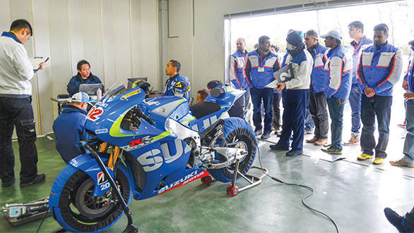 Suzuki private test at Ryuyo (3)