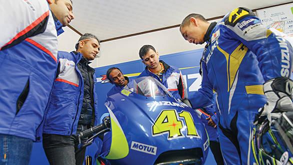 Suzuki private test at Ryuyo (4)