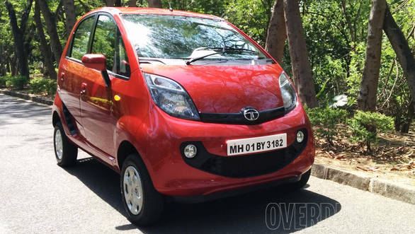 The Tata Nano GenX gets a refreshed face that was first seen on the Nano Twist Active Concept that was shown at the 2014 Auto Expo