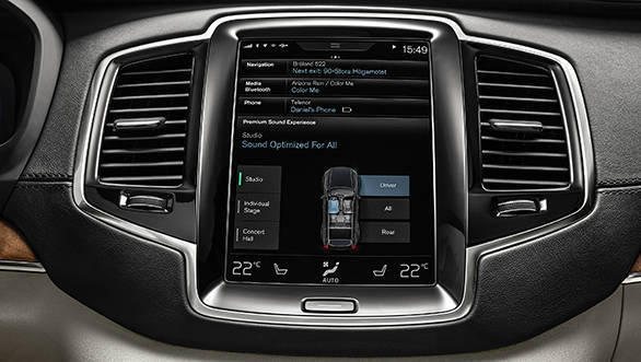 2016 Volvo XC90's infotainment system explained