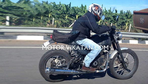 Spied: Royal Enfield Himalayan testing in Chennai