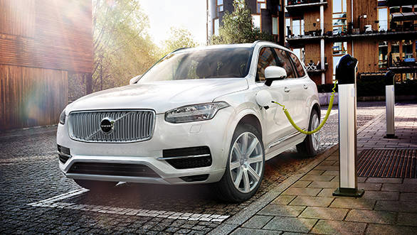 The Volvo XC90 T8 is a Plug-in Hybrid SUV