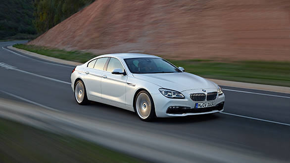 BMW 6 Series Gran Coupe to be launched in India on May 29, 2015