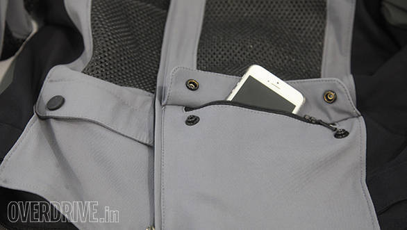 Dainese S-ST Tourer jacket front pocket