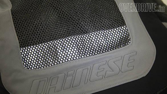 Dainese S-ST Tourer jacket retroreflective strip